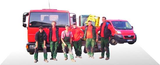 Team der Firma Garten- und Landschaftsbau Lothar Deimel